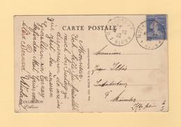 Ambulant Kruth A Mulhouse 2° - 1933 - Railway Post