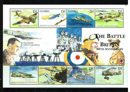Gambia 2000 Sc # Bf 2325  MNH **  Battle Of Britain - WW2