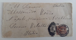 1894 Cover NEW YORK-ITALY+c.2-O903 - Event Covers