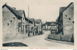 57) FALK : Cité - Rue De Jardin - Animée Gendarmes (EB) - Sonstige Gemeinden