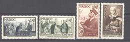 Maroc  :  Yv  335-38  ** - Unused Stamps