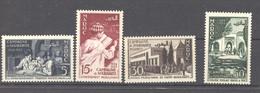Maroc  :  Yv  339-42  ** - Unused Stamps