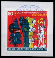 BRD BUND 2020 Nr 3522 Zentrisch Gestempelt Briefstück X38114E - Usados
