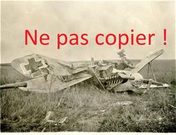 PHOTO ALLEMANDE - AVION ALLEMAND ABATTU ( A LOCALISER ) - GUERRE 1914 1918 - 1914-18
