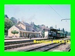 AL 487 - Train - Locomotive 020+020 T N° 104 En Gare - UZERCHE - Corrèze - POC - Uzerche