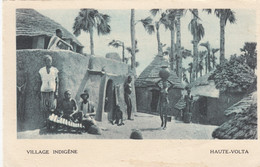 AK - Afrika Haute-Volta (Burkina Faso) - Village Indigene - 1931 - Burkina Faso