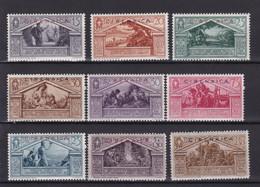 Cirenaica 1930 77-85 Virgilio Mnh - Cirenaica