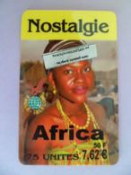 Télécarte NOSTALGIE - Africa 50 Francs - - Prepaid Cards: Other