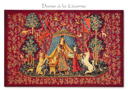 """23 - Aubusson - Tapisserie """"Dame à La Licorne"""" - Aubusson"""