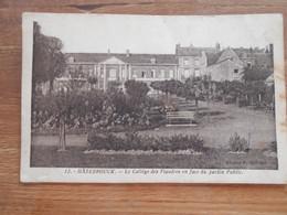 D .59 - Hazebrouck (nord)  Le Collége Des Flandres En Façe Du Jardin Public - Hazebrouck