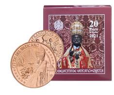 VATICAN 2021 : 20 EURO CUIVRE SAN PIETRO - Vatikan