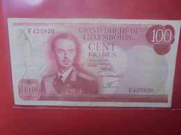 LUXEMBOURG 100 FRANCS 1970 Circuler - Luxembourg
