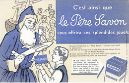 BUVARD & BLOTTER - Le Père Savon (père Noël) - émission Sur Europe N°1, Radio Monte Carlo Et Radio Andorre - Ohne Zuordnung