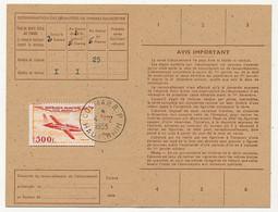 Carte D'abonnement Aux Timbres-poste Spéciaux Français, Affr 500F P.A Magister - Obl Colmar R.P 4/2/1955 - 1927-1959 Brieven & Documenten