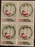 ITALIA 1966 VENTESIMO ANNIVERSARIO DELLA REPUBBLICA SERIE COMPLETA - Blocchi & Foglietti