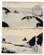 De Panne 1912 La Mer Vue Des Dunes - De Panne