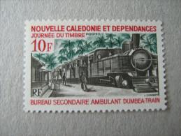 NOUVELLE CALEDONIE   P 372   * *  JOURNEE DU TIMBRE TRAIN - Unused Stamps