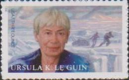 USA, 2021, MNH, WRITERS, URUSULA K. LE GUIN,1v - Writers