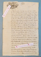Document Manuscrit 1777 - Coyse - Villard D'Héry (Savoie) Chambery Seigneur Dallexandry Cachet De Généralité Deux Sols - Seals Of Generality