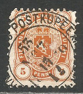 Finland Russia 1875 Used Stamp (L 11) - Used Stamps