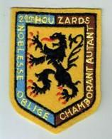 Hussards 2 RH Ecusson Régiment - Escudos En Tela