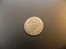 Tunisia 8 Kharub 1289 Silver - Tunisia
