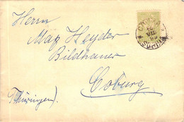 Cover Bulgarien - Coburg 1899 - Covers & Documents