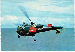 CPM PAYS-BAS THEMES MLITARIA AERONAUTIQUE - Hydravion CessnaSud-Aviation Alouette III - Helicópteros