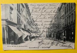15537 - Luxembourg Grand'Rue - Luxemburgo - Ciudad