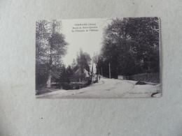 Vermand Route De Saint Quentin La Chaussée De L'abbaye Richard - Altri Comuni