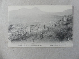 Castel Panorama Vu Du Roc Sarron - Castellane
