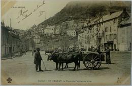 15 Murat (Cantal) Place De L'Hotel De Ville - Murat