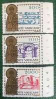 1984 - Vaticano - San Damaso Papa - Serie  Tre Valori - Nuovi - Nuovi