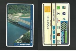 N. 144 Cat. Viacard - A26 Voltri-Gravellona Ponte Sul Ticino Da Lire 20.000 Pkappa - Altri