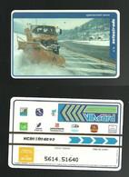 N. 210 Cat. Viacard - Operazione Neve Da Lire 20.000 Pkappa - Altri