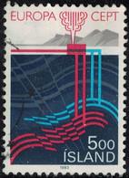 Islande 1983 Oblitéré Used Gisements Et Extraction Du Gaz Naturel Y&T IS 551 SU - Oblitérés