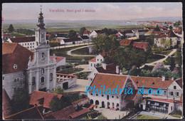 Varaždin, General View, Mailed 1918 - Croacia