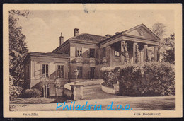 Varaždin, Vila Bedeković, Mailed 1917 - Croacia