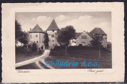 Varaždin, Stari Grad, Mansion, Mailed 1927 - Croacia