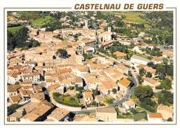 34 - Castelnau De Guers - Vue Générale Aérienne - Otros Municipios