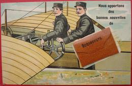 76 - BONSECOURS - Carte A Système - Dépliant - Aviation - Aviateur - 10 Vues Dans La Sacoche - Bonsecours