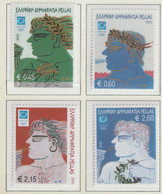 Greece 2004 Olympic Games In Athens 4 Stamps MNH/** (H71) - Zomer 2004: Athene