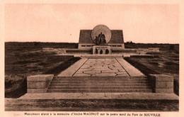 CPA - FORT De SOUVILLE - Monument à La Mémoire D'André MAGINOT ... - Oorlogsbegraafplaatsen