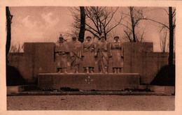 CPA - VERDUN - Monument Aux Morts  ... - Oorlogsmonumenten