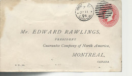 24468) Canada Winnipeg Postmark Cancel 1905 Duplex Late Use DMB 396 - Covers & Documents