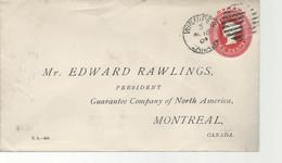 24470) Canada Winnipeg Postmark Cancel 1904 Duplex  Late Use DMB 393 - Covers & Documents