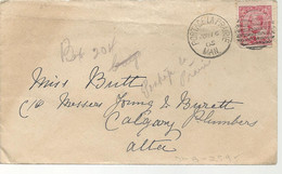24477) Canada Portage La Prairie Postmark Cancel 1905 Duplex  DMB 254 - Covers & Documents