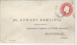 24497) Canada Boissevain Postmark Cancel Duplex 1905 - Covers & Documents