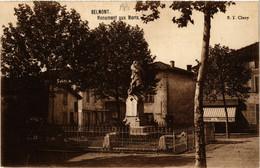 CPA BELMONT - Monument Aux Morts (430281) - Belmont De La Loire