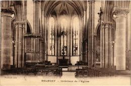 CPA AK BELMONT - Intérieur De L'Église (430282) - Belmont De La Loire